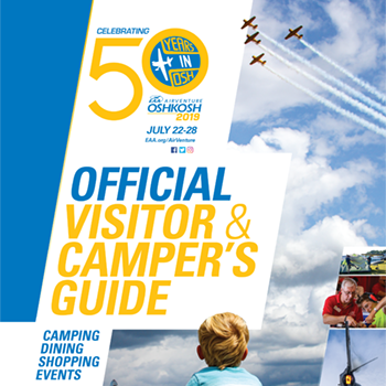 2019 AirVenture Official Visitor & Camper's Guide