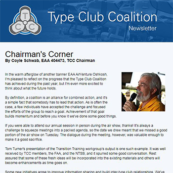 Type Club Coalition Articles