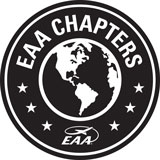EAA chapter logo black