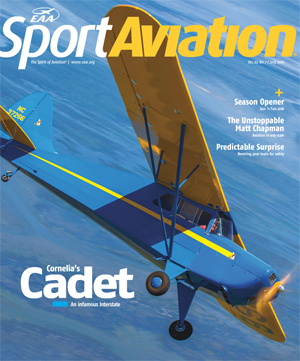 July Sport Aviation Cover