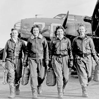 WASP: Women Flyers of WWII