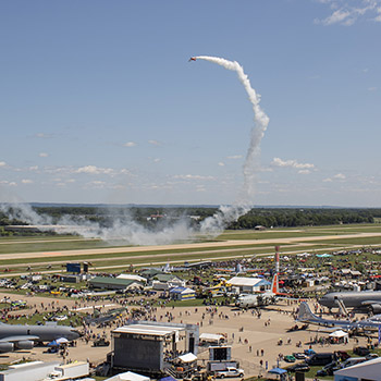 Two For One: Dual AirVenture Air Show Performances Promote Social Distancing