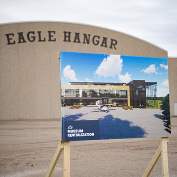 EAA Begins 'Project 21' Museum Expansion