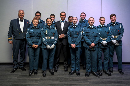 Hadfield and Cadets