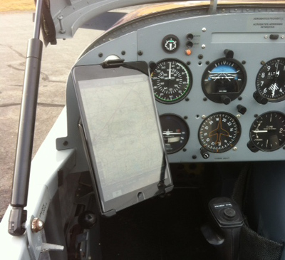 IPad Mini Support for Aircraft