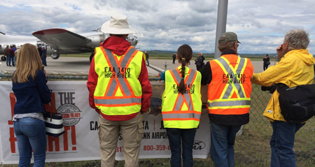 EAA Chapter 1410 High River Hosts the B-17