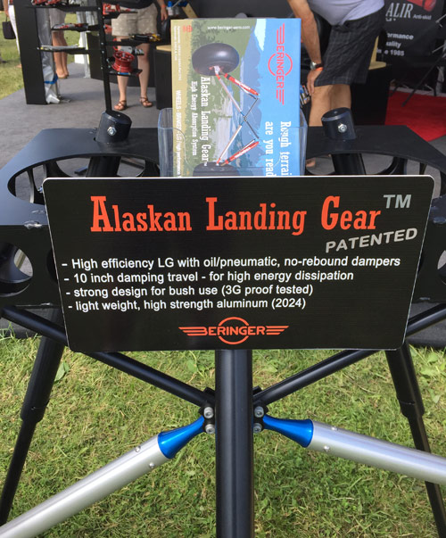 Beringer Alaskan Tundra Landing Gear for Homebuilt Aircraft