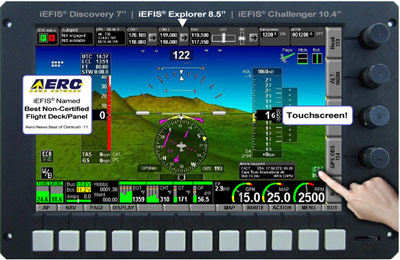 MGL Discovery Lite – Low-cost EFIS for homebuilts