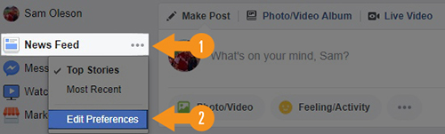 How to Keep EAA at the Top of Your Facebook News Feed