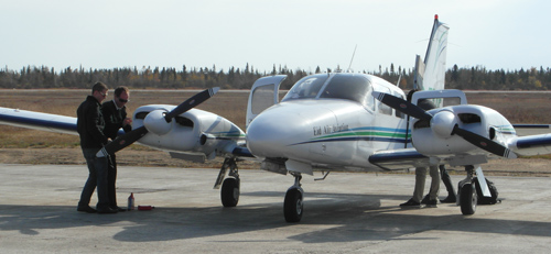 Pilots N Paws to Sept-Iles