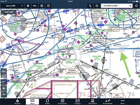 ForeFlight Updates Canadian Airspace Information