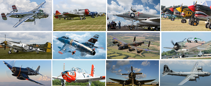 Warbirds Collage