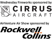 Wednesday Air Show Sponsors