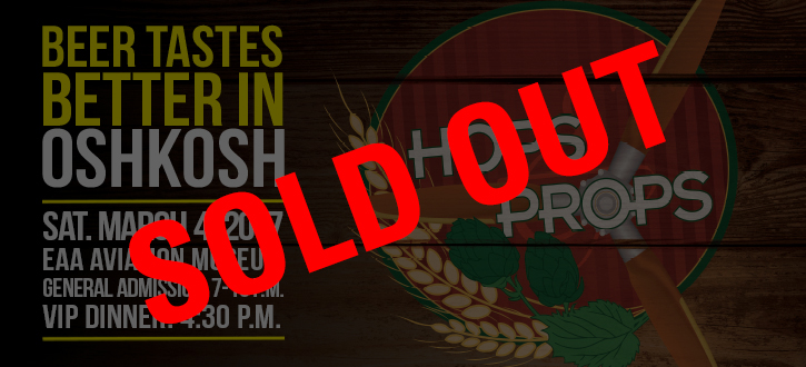 Hops Sold Out 2017