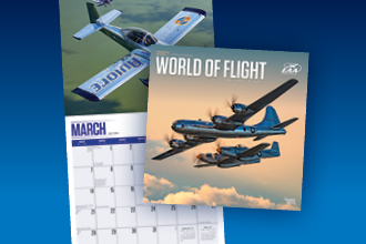 World of Flight 2021 Calendar