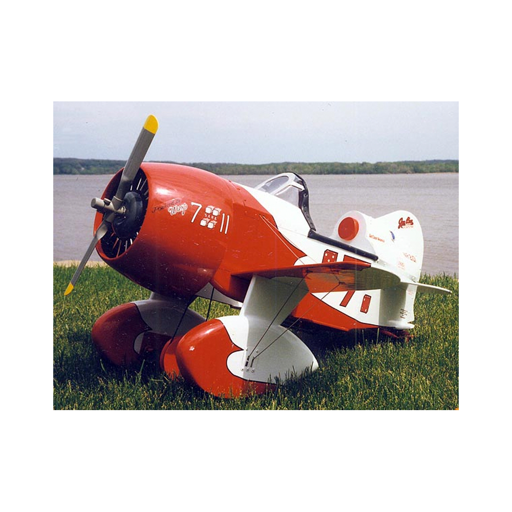 gee bee r2 pedal plans