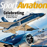 Cover of EAA Sport Aviation magazine