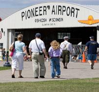 People at Pioneer Airport