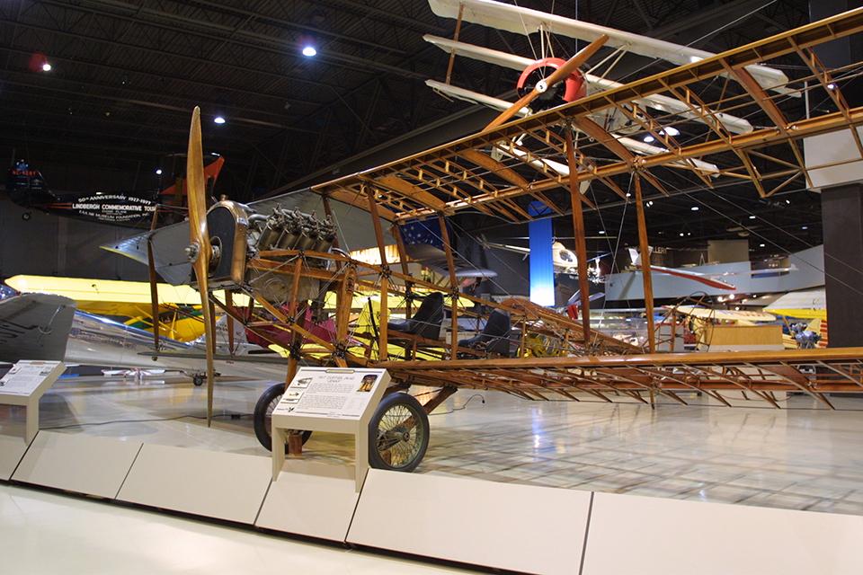 1918 Curtiss Jn 4d Jenny