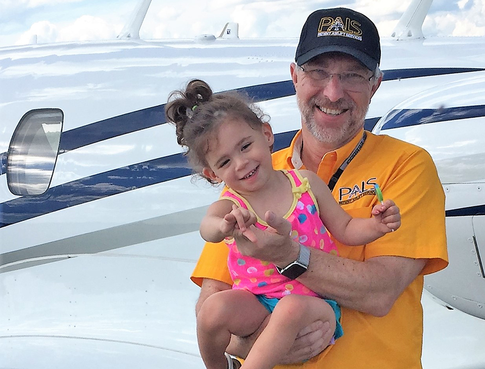 Mark Hanson Donates 100th Flight for PALS