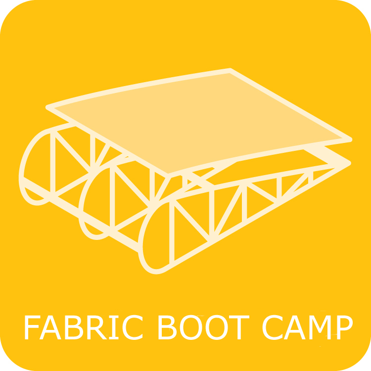 Fabric Covering Boot Camp